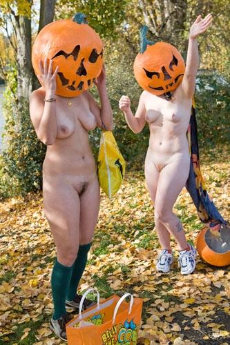 Nude Pumpkin Run 113