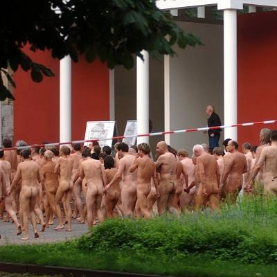 spencer tunick 2006 dusseldorf