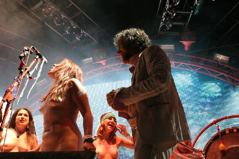 Flaming Lips at Sasquatch 2008 and others